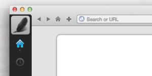 Raven browser screenshot