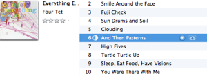 iTunes downloading a song from iCloud